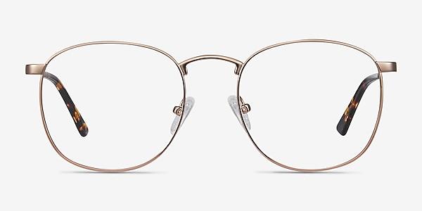 St Michel Rose Gold Metal Eyeglass Frames