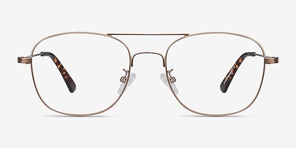 Courser Rose Gold Métal Montures de lunettes de vue