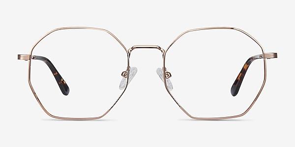 Octave Rose Gold Metal Eyeglass Frames