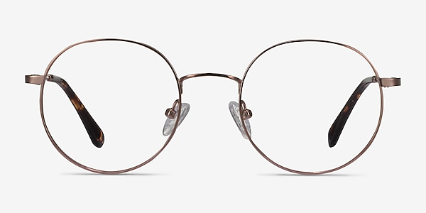Streetwise Rose Gold Metal Eyeglass Frames