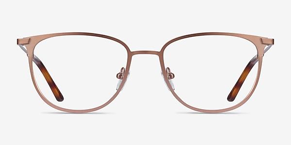 Vita Rose Gold Metal Eyeglass Frames