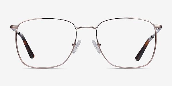 Reason Rose Gold Metal Eyeglass Frames