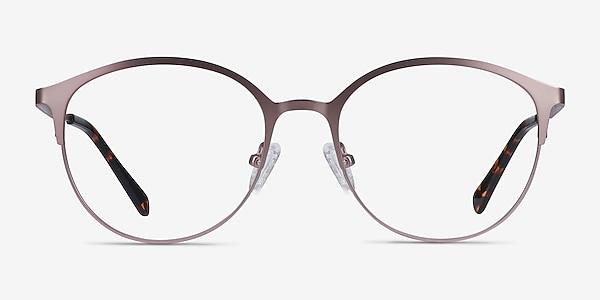 Emma Pink Metal Eyeglass Frames