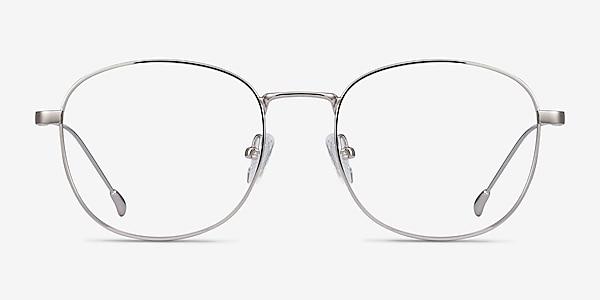Vantage Argenté Métal Montures de lunettes de vue