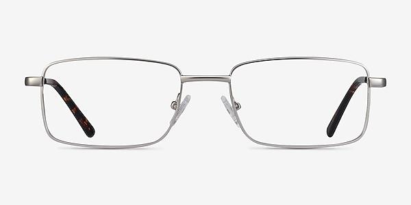Arco Silver Metal Eyeglass Frames