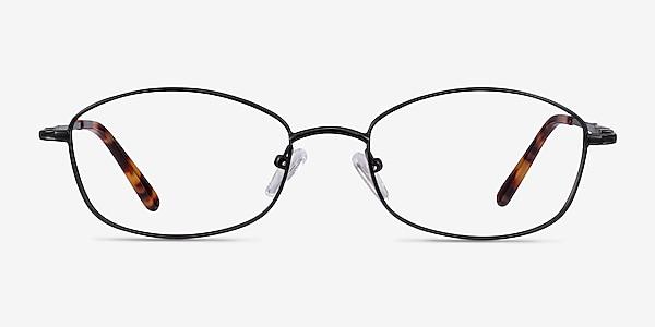 Betty Black Metal Eyeglass Frames