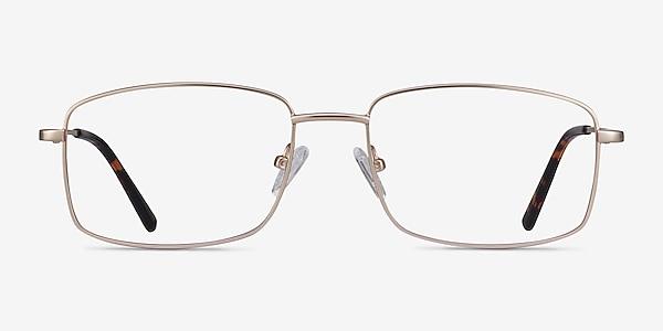 Onex Gold Metal Eyeglass Frames
