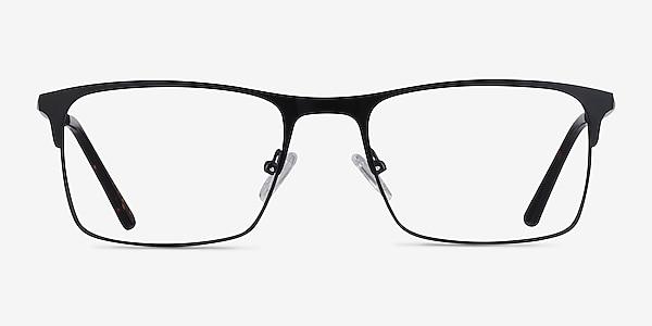 Vigo Black Metal Eyeglass Frames
