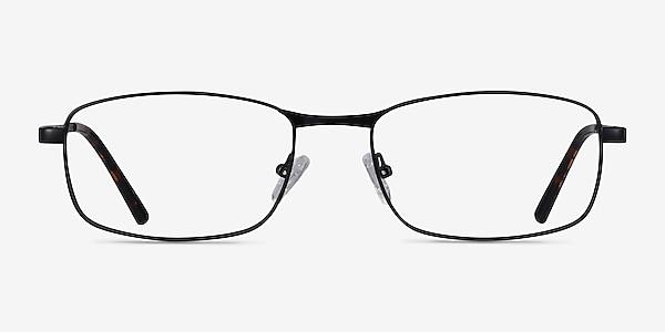Madon Black Metal Eyeglass Frames