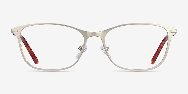 Modena Gold Metal Eyeglass Frames