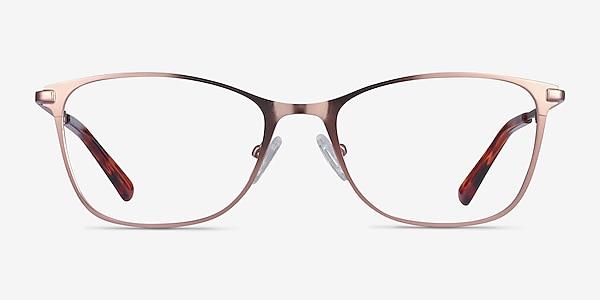 Kasia Rose Gold Metal Eyeglass Frames