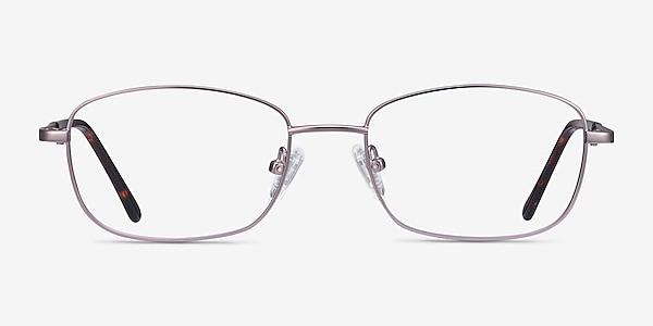 Path Purple Metal Eyeglass Frames