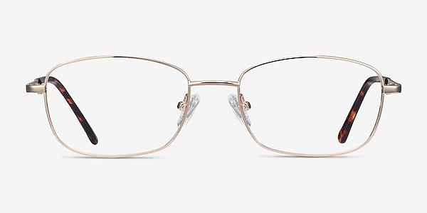 Path Golden Metal Eyeglass Frames