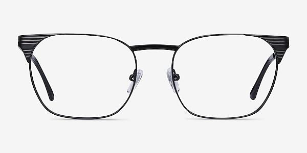 Soulist Black Metal Eyeglass Frames