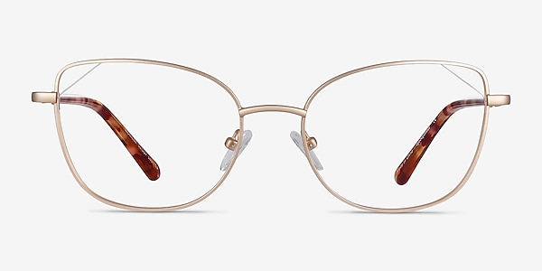 Moment Gold Metal Eyeglass Frames