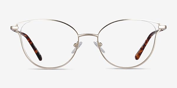 Trance Gold Metal Eyeglass Frames