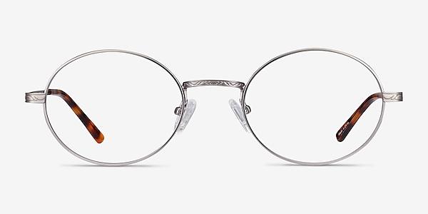 Equinox Gunmetal Metal Eyeglass Frames