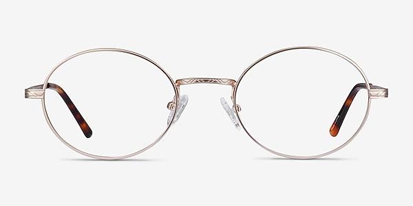 Equinox Gold Metal Eyeglass Frames