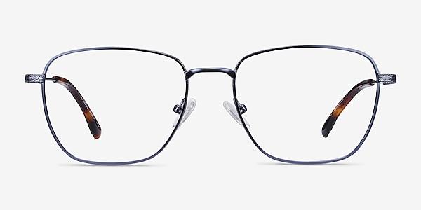 Throne Blue Metal Eyeglass Frames