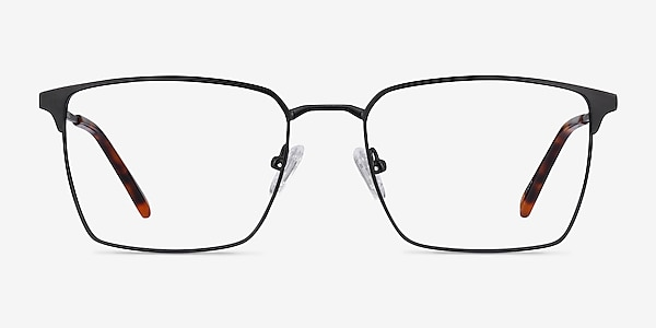 Metro Noir Métal Montures de lunettes de vue