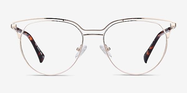 Gia Doré Métal Montures de lunettes de vue