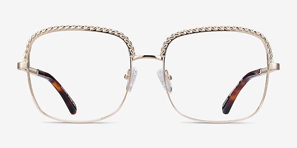 Astoria Gold Metal Eyeglass Frames