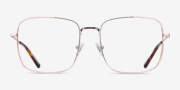Dorato Rose Gold Metal Eyeglass Frames