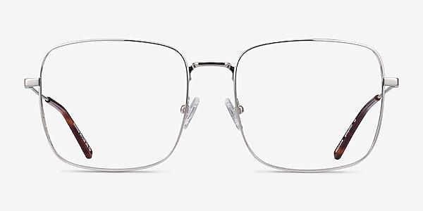 Dorato Silver Metal Eyeglass Frames