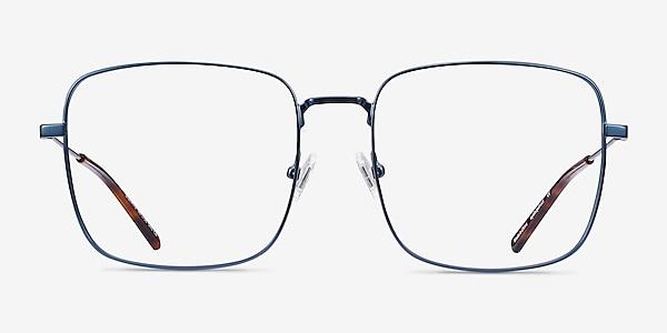 Dorato Navy Metal Eyeglass Frames