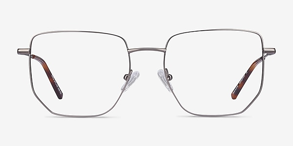 Rhys Gunmetal Metal Eyeglass Frames