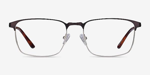 Oswald Matte Black Métal Montures de lunettes de vue