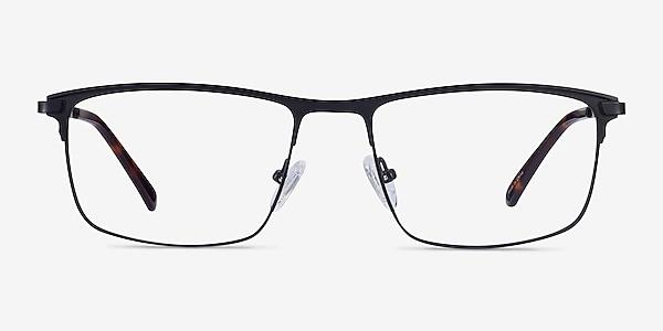 Harrison Noir Métal Montures de lunettes de vue