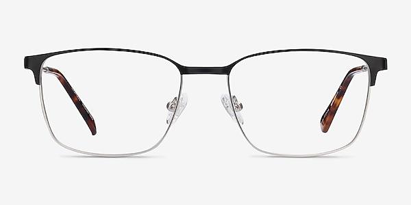 Leopold Black Metal Eyeglass Frames