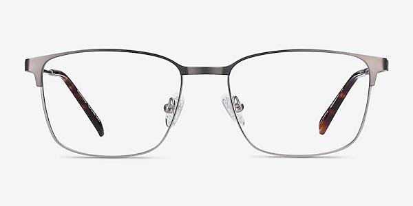Leopold Gunmetal Metal Eyeglass Frames