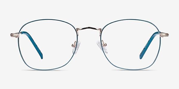 Keith Green & Gold Metal Eyeglass Frames