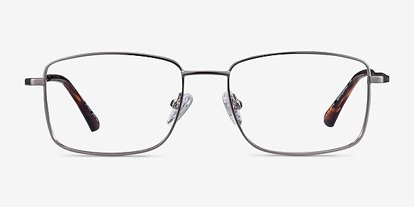 Marley Gunmetal Metal Eyeglass Frames