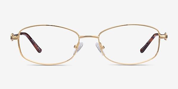 Maggie Gold Metal Eyeglass Frames
