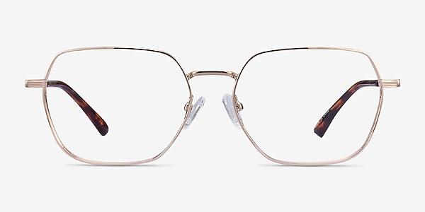 Marlow Gold Metal Eyeglass Frames