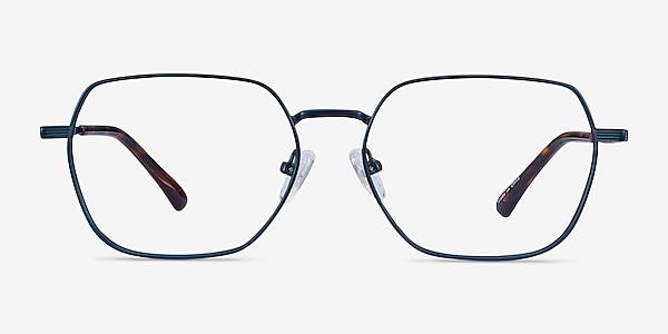 Marlow Bleu marine  Métal Montures de lunettes de vue