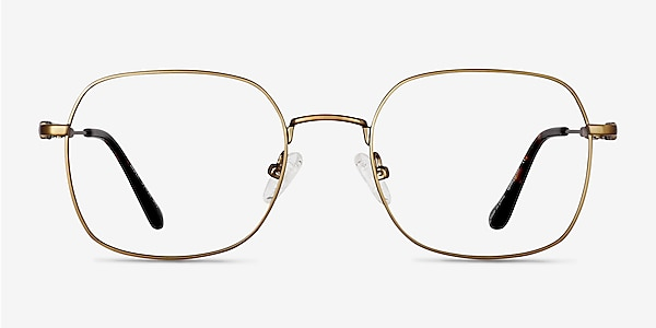 Index Bronze Tortoise Metal Eyeglass Frames