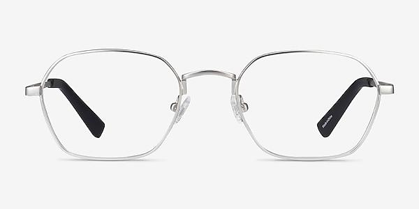 Space Matte Gunmetal Metal Eyeglass Frames