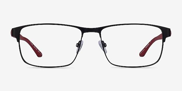 Special Black Red Carbon-fiber Montures de lunettes de vue