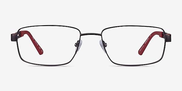 Bob Gunmetal Red Carbon-fiber Montures de lunettes de vue