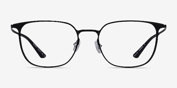 Density Black Aluminium-alloy Eyeglass Frames