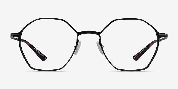 Alloy Black Aluminium-alloy Eyeglass Frames