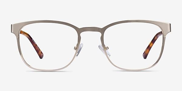 Bellamy Light Gold Metal Eyeglass Frames