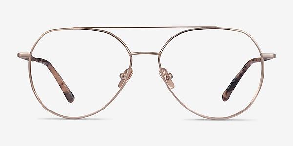 Benny Rose Gold Metal Eyeglass Frames