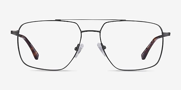 Focal Gunmetal Métal Montures de lunettes de vue