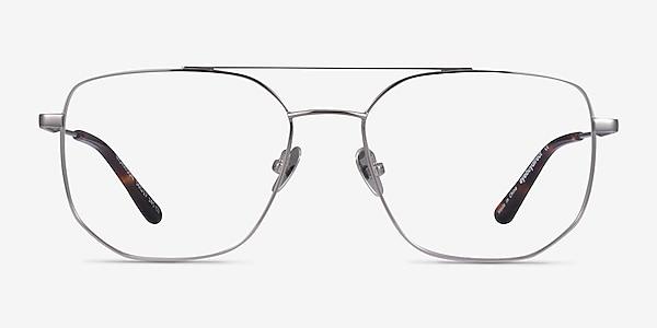 Morrison Silver Metal Eyeglass Frames