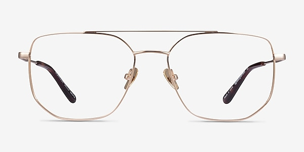 Morrison Doré Métal Montures de lunettes de vue